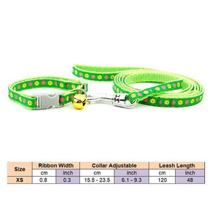 2 pieces Pet Collar Leash - Peril
