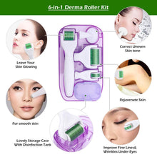 Load image into Gallery viewer, 6 in 1 Microneedle Derma Roller Kit - Peril