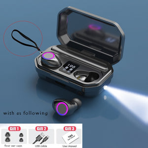 Wireless Bluetooth Earbuds With Powerbank - Peril