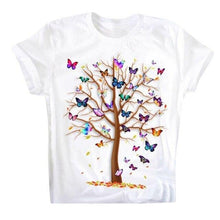 Load image into Gallery viewer, 3D Butterfly Tree Printing Top - Peril