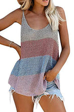 Load image into Gallery viewer, Fashion Crochet Loose Knitted Cami Tank Tops