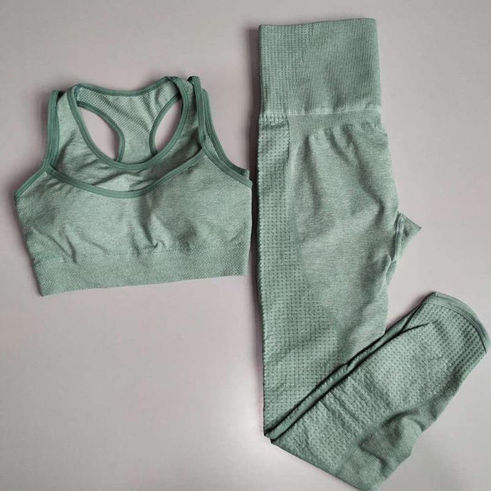 2PCS Vital Rise Seamless Yoga Sets - Peril