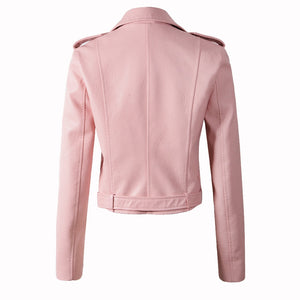 Women Motorcycle Leather Jacket - Peril