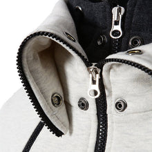 Load image into Gallery viewer, Scarf Collar Hooded Jacket - Peril