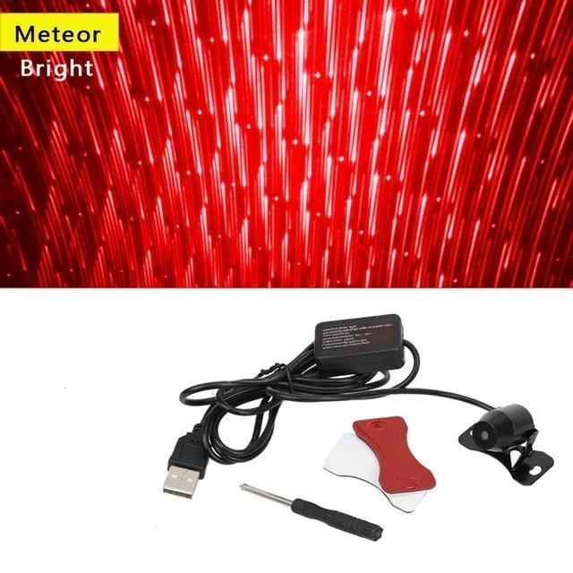 Car Atmosphere Lamp Interior Ambient Star Light - Peril