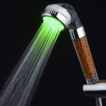 Load image into Gallery viewer, Temperature Control Colorful Light Up Shower Head - Peril