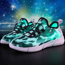Load image into Gallery viewer, Unisex Fiber Optic Shoes - Peril