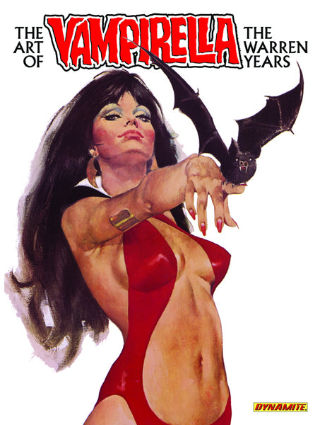ART OF VAMPIRELLA WARREN COVERS HC