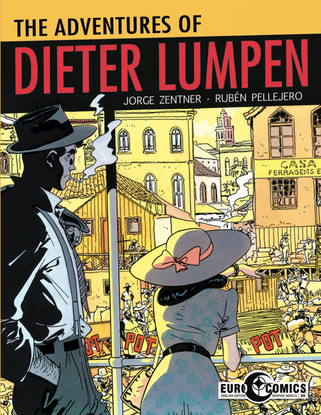 ADVENTURES OF DIETER LUMPEN GN
