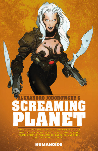 ALEXANDRO JODOROWSKY SCREAMING PLANET GN (MR)