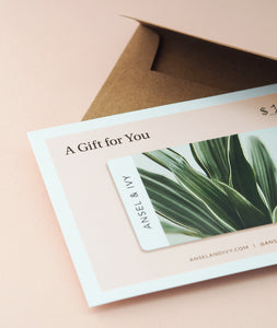 Physical Gift Card Set