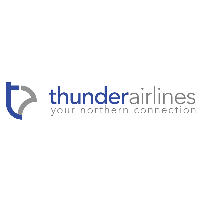 global ppe canada thunder airlines logo