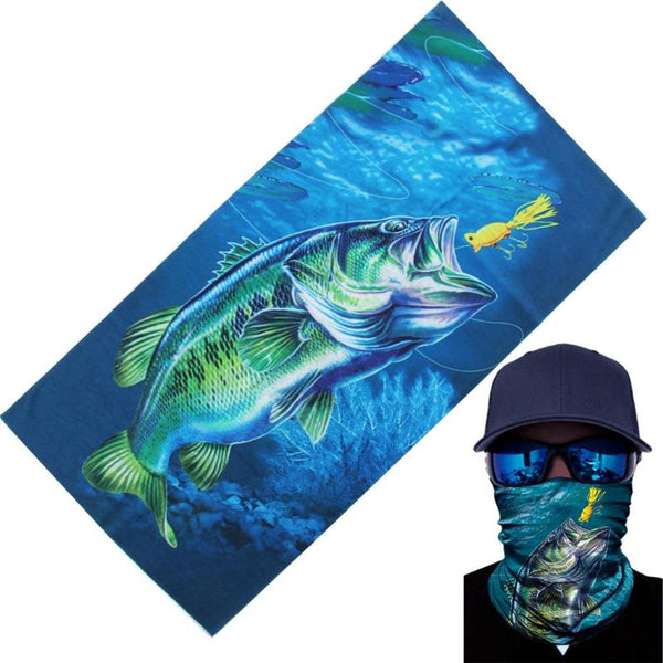 1pc Outdoor Fishing Headwear Scarf Multicolor Tube Sun For Mask Neck Fishing Bandana Fishing Apparel Hotsale