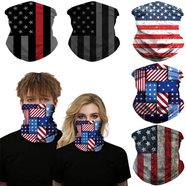 Fashion Outdoor Sport Print Bandana Tube Fishing Cycling Running Hiking Hunting Bicycle Ski Neck Ring Mask Headband Scarf