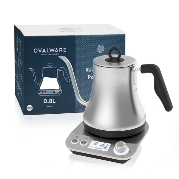 RJ3 Electric Pour Over Kettle (S/S Silver)