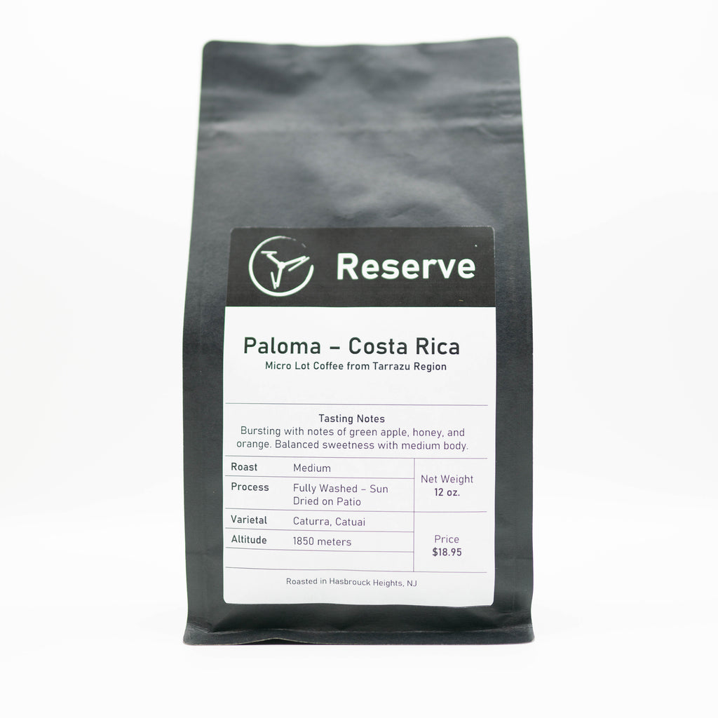 Paloma 'Reserve' - Costa Rica - Medium Roast - 12 oz.