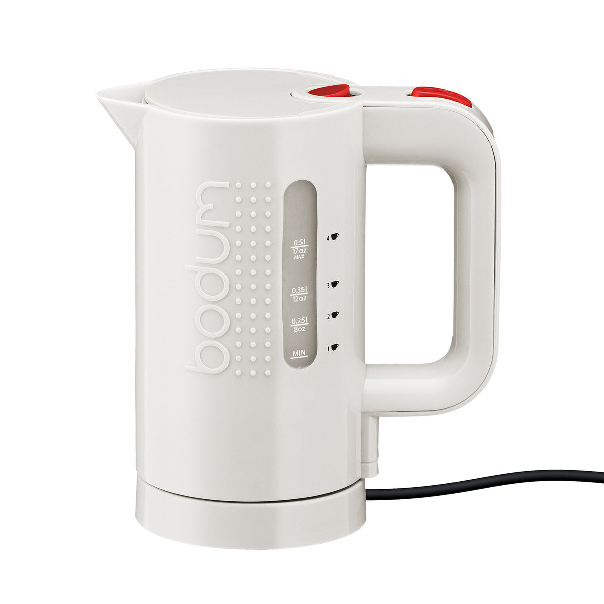 Bodum BISTRO Electric Water Kettle 17 oz. - White