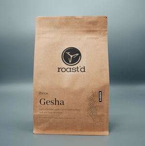 Gesha 'Reserve' - Peru - Light-Medium Roast - 12 oz.