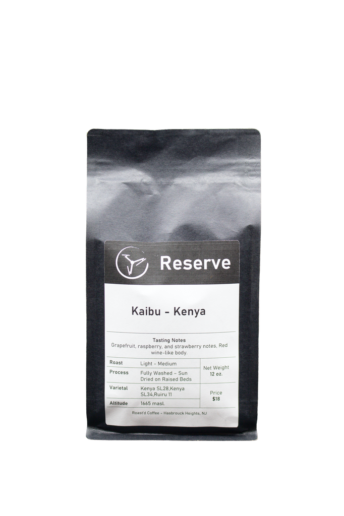 Kaibu 'Reserve' - Kenya - Light Medium Roast - 12 oz.
