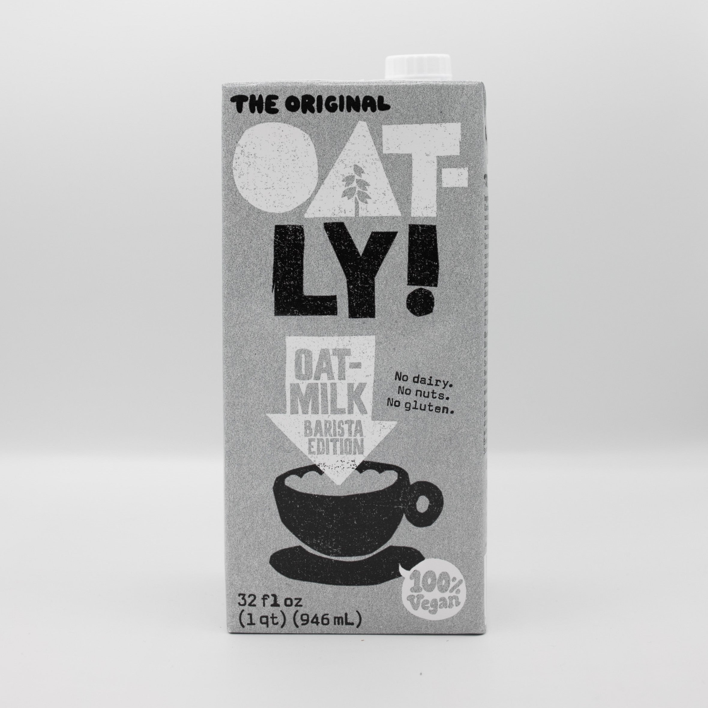 Oatly Oat Milk - Barista Edition - 32 oz.