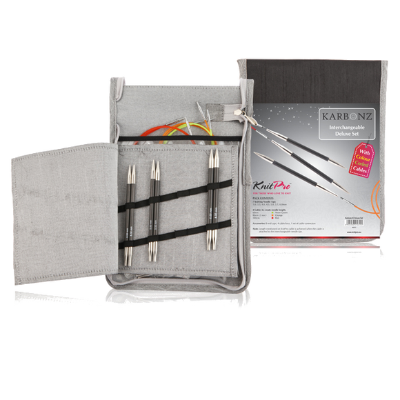 Karbonz Interchangeable Needles Deluxe Set