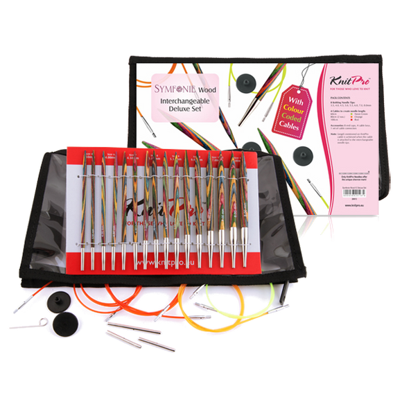 Symfonie Interchangeable Needle Deluxe Set