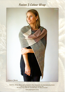 Fusion 3 Colour Wrap #2404 by Alpaca Yarns