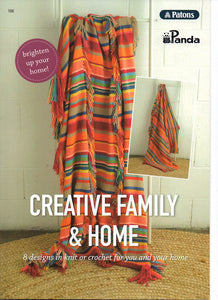 Creative Family & Home Pattern Book #106
