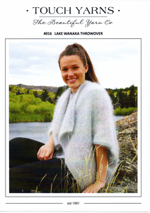 Lake Wanaka Throwover #016 by Touch Yarns