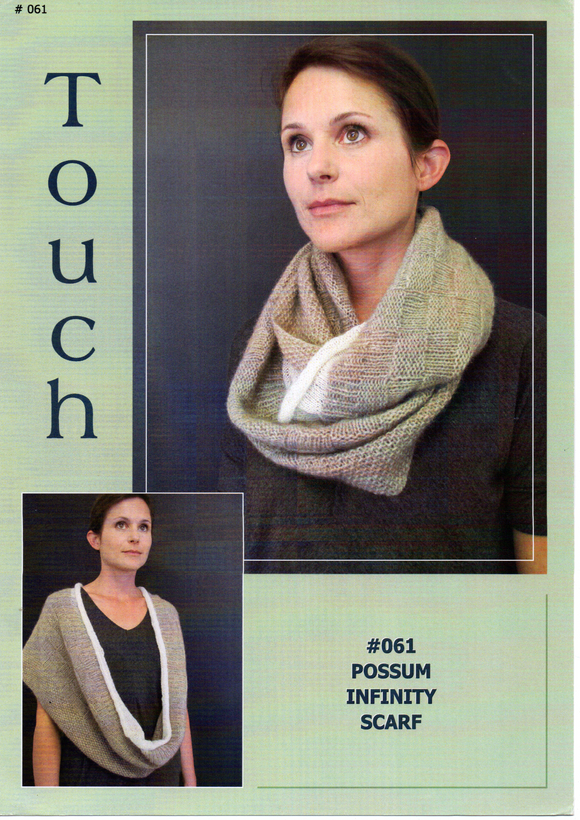 Possum Infinity Scarf #061 By Touch Yarns