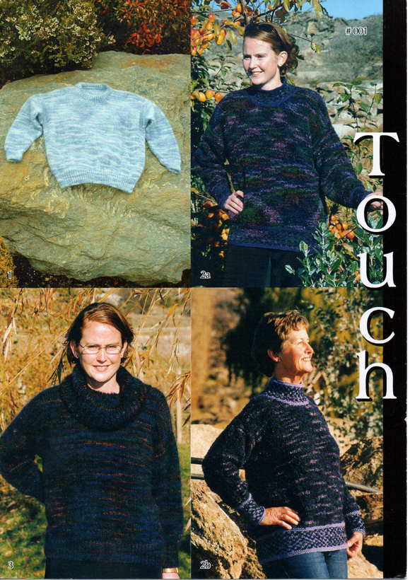 Crew Neck Jersey #001 By Touch Yarns