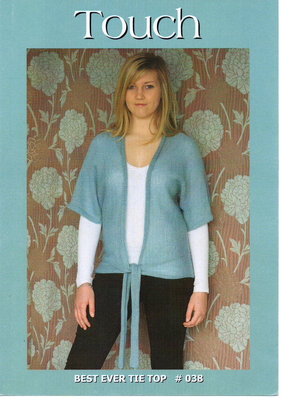 Best Ever Tie Top #038 By Touch Yarns