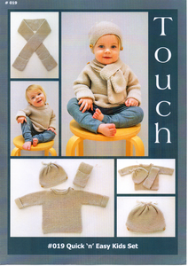 Quick 'n' Easy Kids Set #019 By Touch Yarns