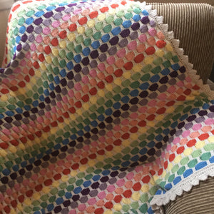 Spotty Blanket Pattern