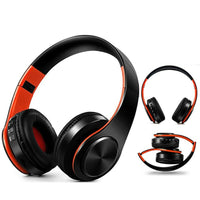 Portable Wireless Headphones Bluetooth Stereo Foldable Headset Audio Mp3 Adjustable Earphones with Mic for Music