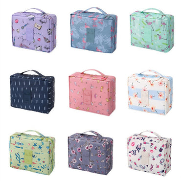 Women Cosmetic Bag Girls Make up Organizer Cases Makeup Toiletry kit Storage Travel Beauty Vanity Wash Pouch