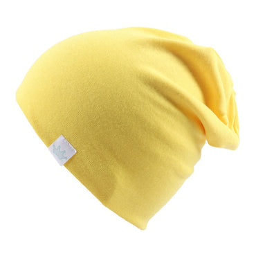 Fashion Cute Solid Knitted Cotton Hats