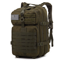 45L Large Capacity Man Army Tactical Backpacks