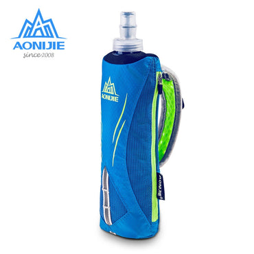 Running Hand held Water Bottle Hydration Pack Hydra Fuel Soft Flask Marathon Race, Travel