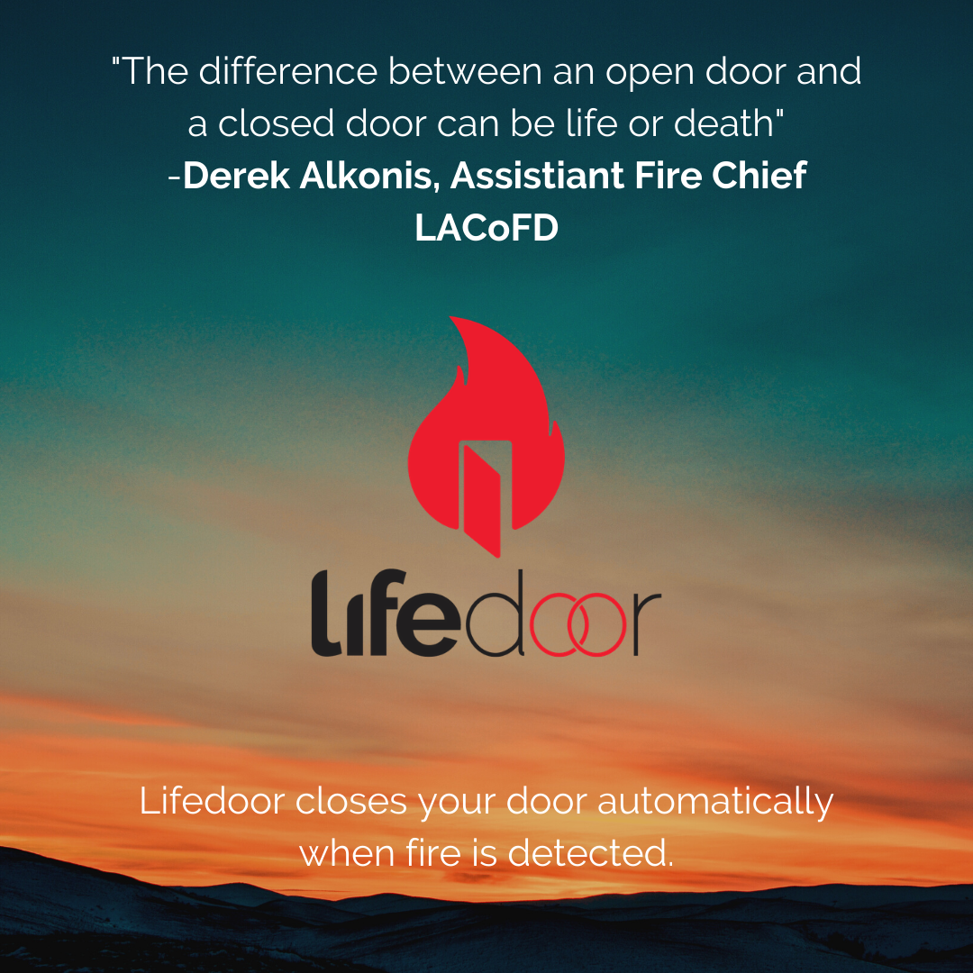 Closed doors can save lives!