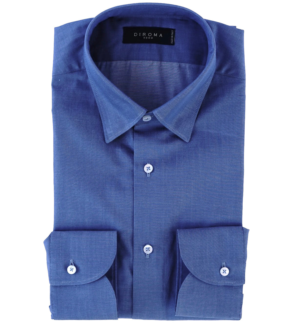 Luxury Cotton Denim Slim Fit Shirt
