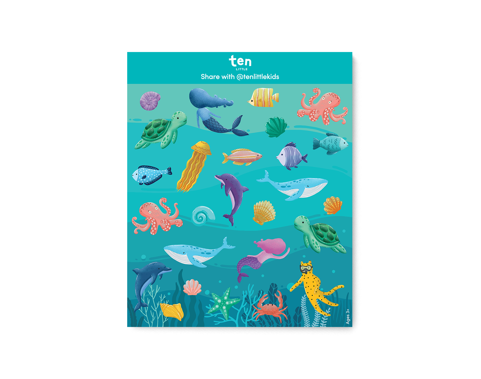 Sneaker Stickers - Under the Sea