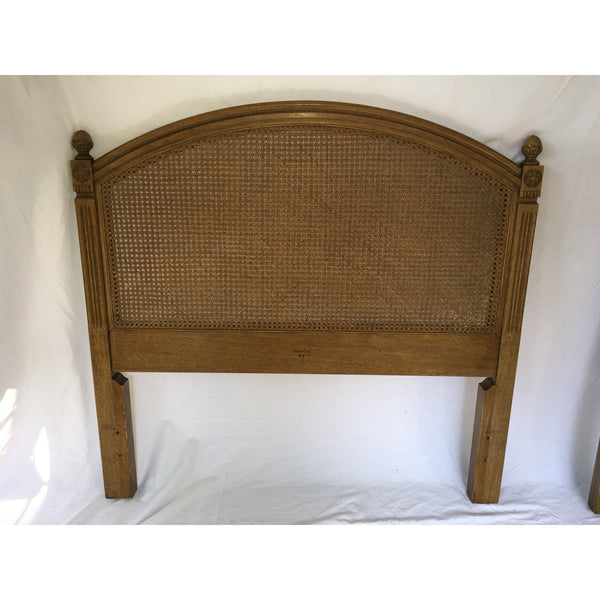 20th Century French Regency Henredon Twin Headboards - a Pair