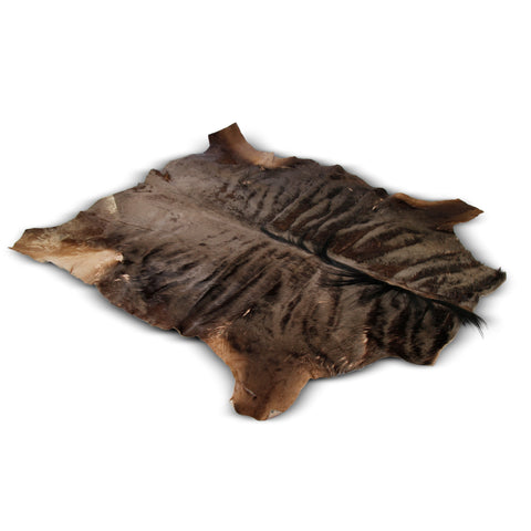 authentic african wildebeest hide
