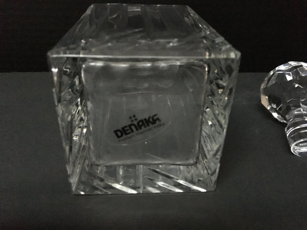 Denak Vodka Glass Decanter