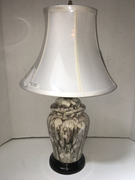 Vintage Drip Glaze Ceramic Table Lamp