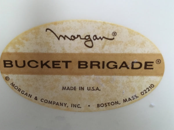 Vintage Morgan Bucket Brigade Ice Bucket