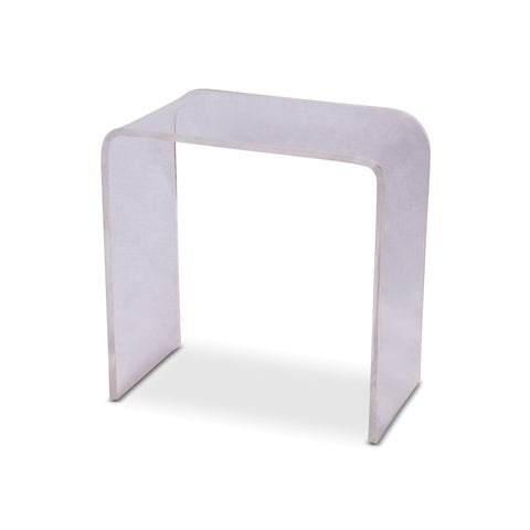 Lucite Waterfall Side Table