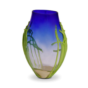 Medium Cobalt Glass Vase