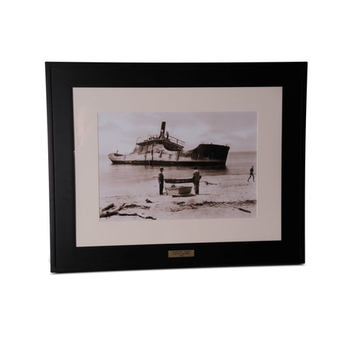cape may's concrete ship print